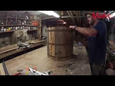 видео: Как сделать деревянное ведро своими руками.
