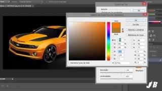 Como mudar a cor de um carro usando photoshop cs6. JB Tutoriais