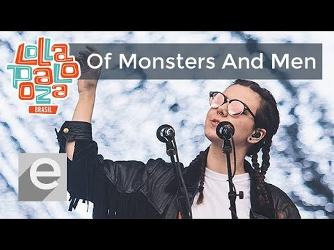 Of Monsters And Men -  Lollapalooza Brazil 2016 (Completo) [Full HD]