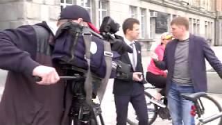 на работу на велосипеде чиновники екатеринбурга участвуют в акции