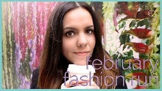 February Fashion RUN - City Outfit of the Day! Thumbnail