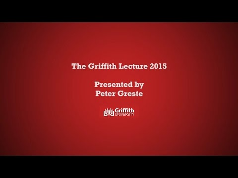Journalism in the Age of Terror - The Griffith Lecture by Peter Greste