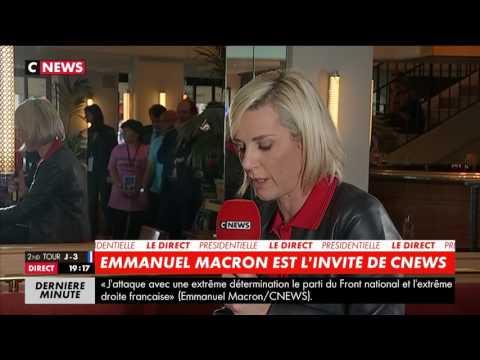Interview d'Emmanuel Macron par Laurence Ferrari en direct d'Albi |CNEWS