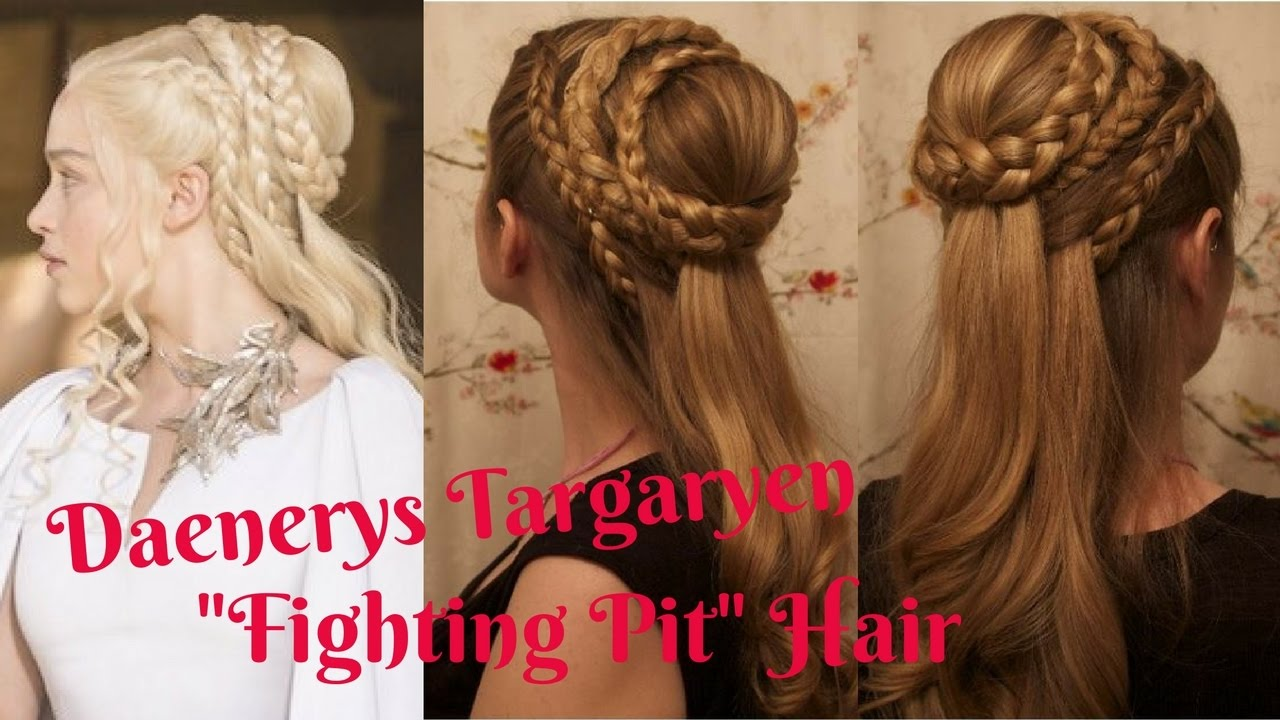 game of thrones hair: daenerys targaryen, season 5.