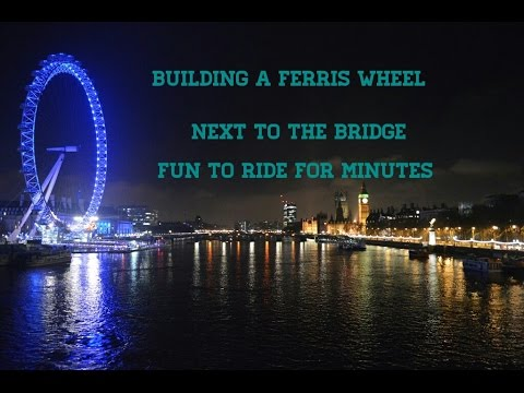 Building The Famous Ferris Wheel From London Minecraft P E Play