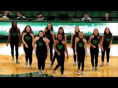 Wagner College Dance Team Performs at Men's Basketball Game vs Fairfield - December 01, 2017