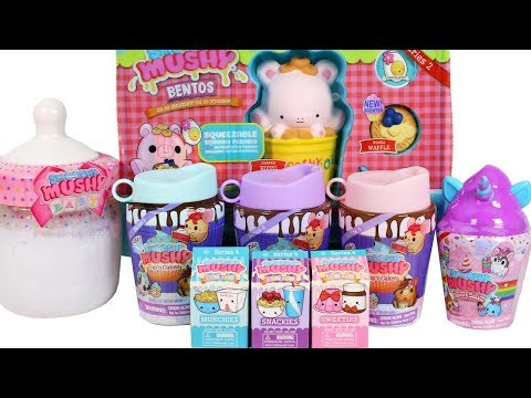Smooshy Mushy Series 4 Cup 'n Cakes Surprise Box Unboxing Review Unicorn Shakes, Blind Boxes & More