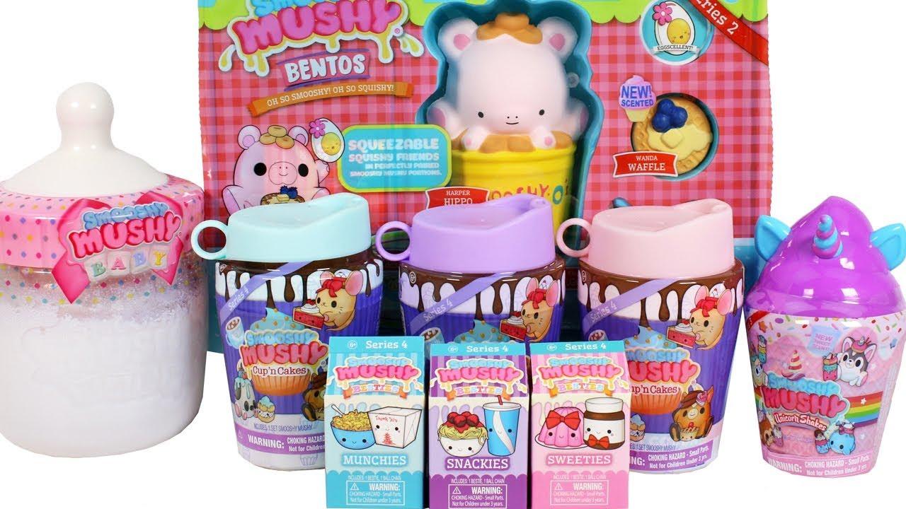 SMOOSHY MUSHY Series 4 Cup /'n Cakes Squishy Toy Surprise