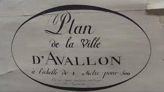 Le service des Archives municipales de la Ville d'Avallon (89)