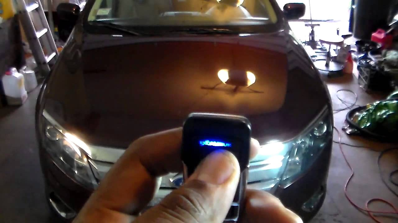 Ford fusion remote start youtube ford fusion remote start sciox Image collections