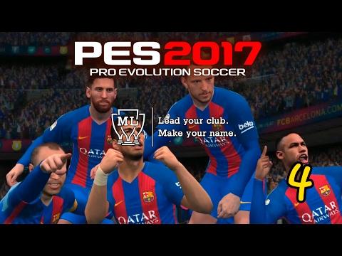Pes 2017 (PC) II LM #4 II FC BARCELONA II EL DERBI DE BARCELONA