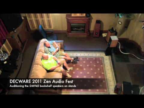 DECWARE 2011 Zen Audio Fest model DM945 demo
