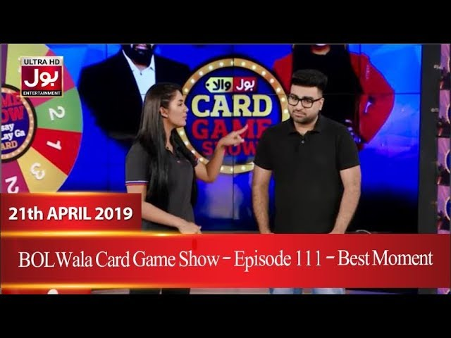 BOLWala Card Game Show | Best Moment  | 21st April 2019 | BOL Entertainment