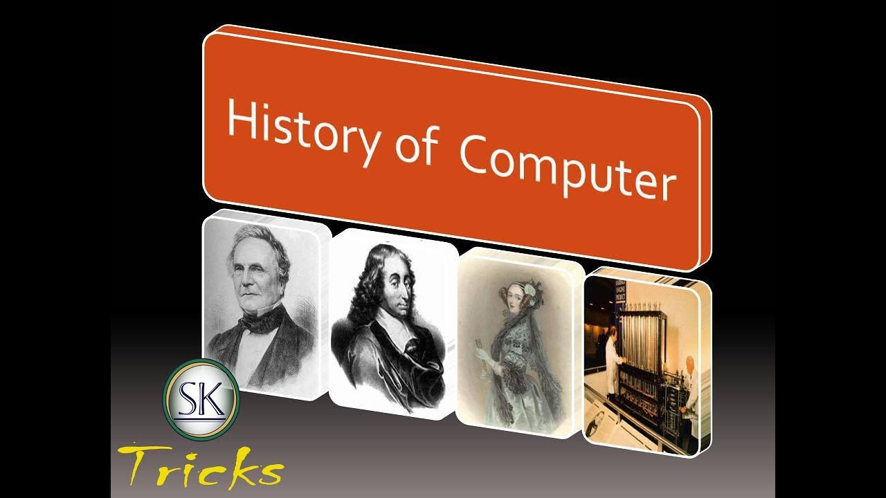 a history of computers A short history of computing dr frank mccown harding university computer science dept photos were obtained from the web, and copyright is held by the respective owners.