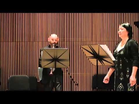 Douglas Townsend's AVE MARIA FOR SOPRANO, CLARINET AND PIANO (2012) (world premiere)