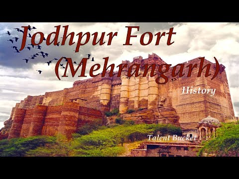 Jodhpur Fort Mehrangarh   Largest Fort In India   Rajasthan   History