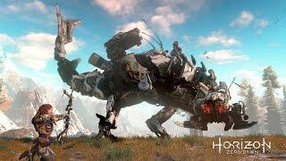 Amazing Thunderjaw Battle! - Horizon Zero Dawn