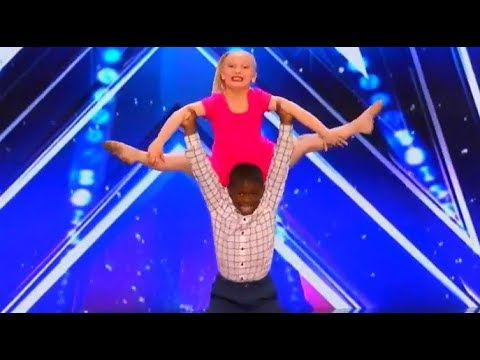 Artyon Celestine & Paige Glenn - Barbie Girl Duo | Awesome Kids Dancers at AGT Audition 2017