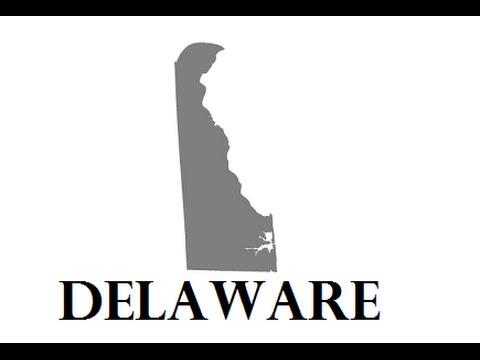 How Delaware Got Its Shape