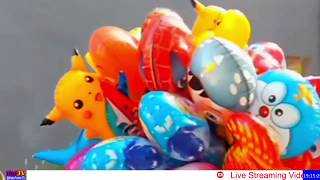 Mainan Anak-anak, Toys Kids, Balon Karakter, Banyak Penjual Balon Terbang, Upin & Ipin, Doraemon Dll