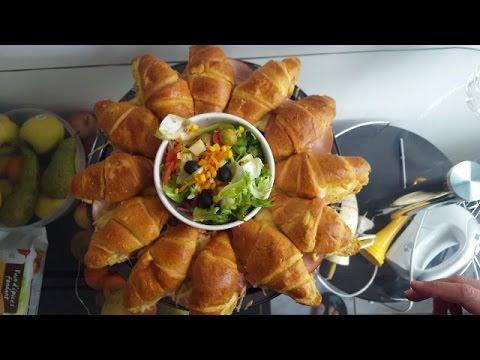 recette-croissants-jambon-bÉchamel-!