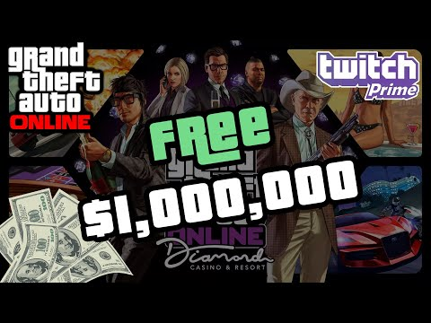 How To Get $1,000,000 Of Free Money In GTA Online every month! (Twitch Prime Offer)