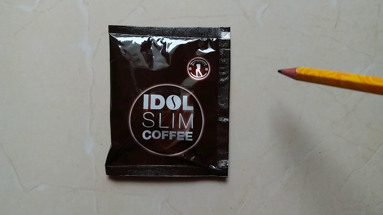 Cách phân biệt hàng thật và fake idol slim coffee.