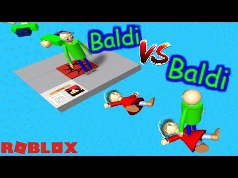 BALDI VS BALDI!! WHO WILL WIN?! | The Weird Side of Roblox: Baldis Basics Obby RP