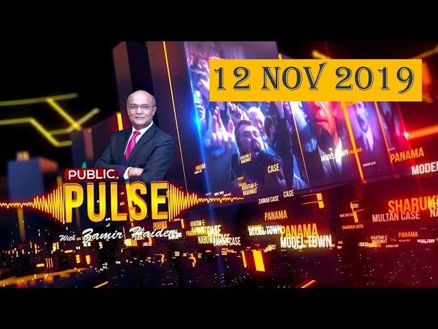 Public Pulse with Zamir Haider | 12 November 2019 | Public News