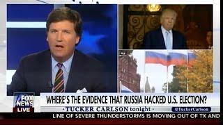 Ведущий Fox News разносит журналиста, обвиняющего Трампа в симпатиях к России. Русский перевод.