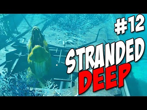 Fighting a Giant SEA CREATURE in Stranded Deep | UPDATE 0.33 Missions |