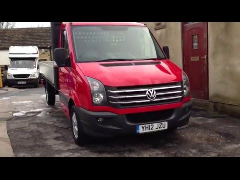 VW Crafter Dropside for sale on Ebay UK 2-2-16