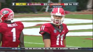 Alabama @ Georgia, 2015 (in under 34 minutes)