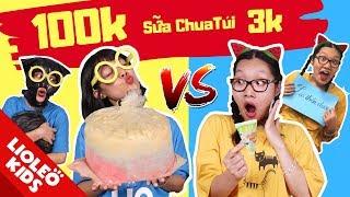 Sữa chua túi 3k và sữa chua túi khổng lồ 100k - Lio đang làm gì mờ ám mà Chan Chan không biết?