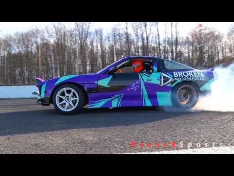 Tandem Drifting at Club Loose NJ with Alex Jagger and Broken Motorsports