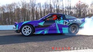 Tandem Drifting at Club Loose NJ with Alex Jagger and Broken Motorsports