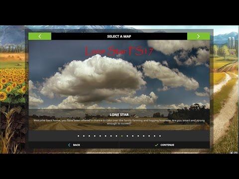 Farming Simulator 17 - Map Second Impression - Lone Star V1 - Mud Edition