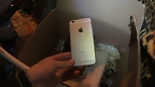 Мои находки в мусорных баках Нашел Iphone 6 Смартфон самсунг и многое другое