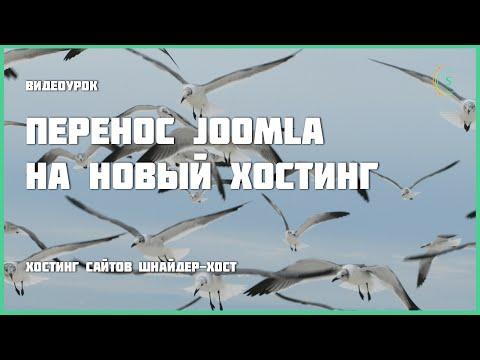 Перенос Joomla на новый хостинг
