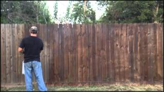 Easy Way To Waterproof Stain A Wooden Fence