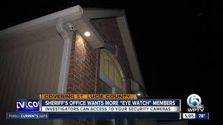 St. Lucie County sheriff seeks more participation in Eye Watch program