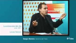 3/4 Sergio Moreno Gil en La entrevista del día LANCELOT TV