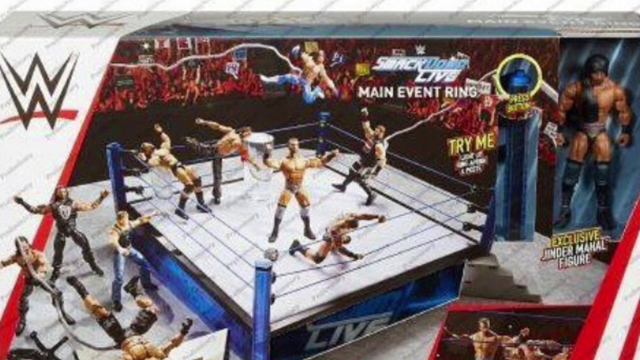 Wwe Elite Scale Ring Money In The Bank
