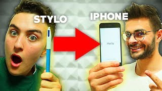 ON A ÉCHANGÉ UN STYLO CONTRE UN IPHONE (feat. FASTGOODCUISINE)