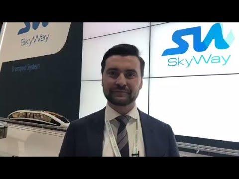 🎥 SkyWay. Future Cities Show 2018, Dubai, UAE