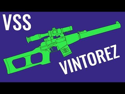VSS Vintorez - Comparison in 10 Different Games