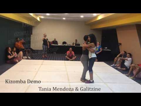 Kizomba Demo Tania Mendoza y Galitzine KHADE 2016