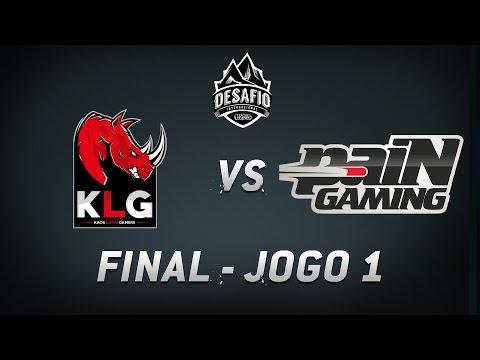 KLG x paiN (Jogo 1) Final do Desafio Internacional