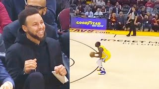 Stephen Curry In Disbelief After Entire Warriors Turn Into Splash Bros! Warriors vs Cavaliers