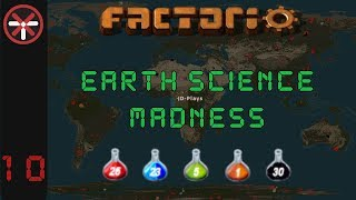 Factorio Earth Science Madness EP10: RAIL SCIENCE! | Multiplayer Gameplay, Lets Play